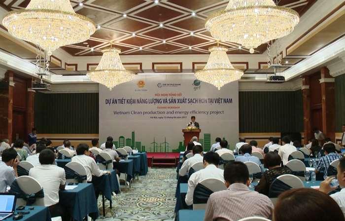 Tổng kết Dự án Tiết kiệm năng lượng và sản xuất sạch hơn tại Việt Nam